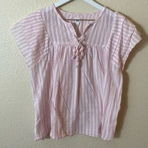 GAP Seersucker Blouse